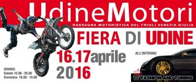 prossimi grandi spettacoli freestyle motocross in fiera a Udine il 16 17 aprile