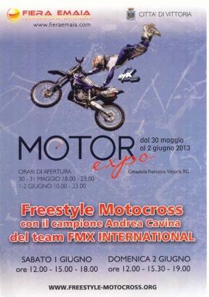 I grandi spettacoli freestyle motocross  in Sicilia